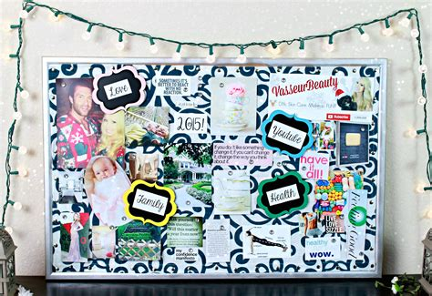 visio board how to make a vision board for the new year vasseur