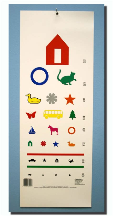 printable pediatric snellen eye chart 53 best images about eye tests on pinterest