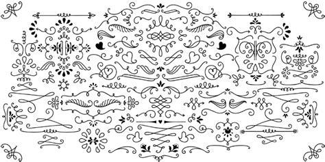 Wedding Font Ornament by Ornament Fonts Fonts