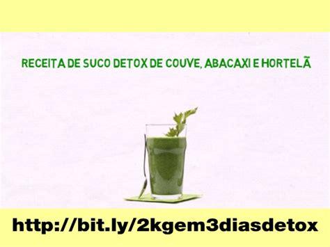 Detox De 3 Dias Sucos by Receita De Suco Detox Couve Abacaxi E Hortel 227 Dieta