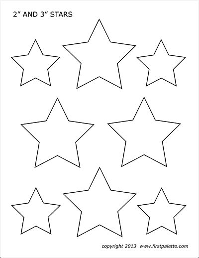 Stars Free Printable Templates Amp Coloring Pages