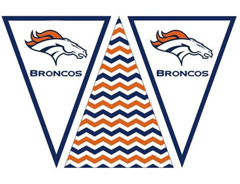 printable football banner broncos banner 2 life in a larger story football