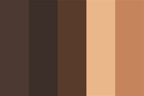 skin color 4 color palette