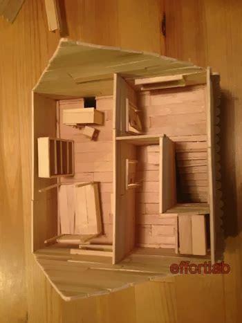 cara membuat rumah menggunakan batang aiskrim effort lab rumah batang aiskrim