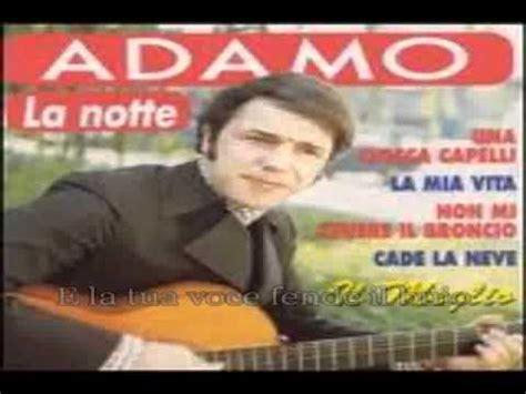 la notte adamo testo un giorno insieme nomadi base karaoke funnydog tv