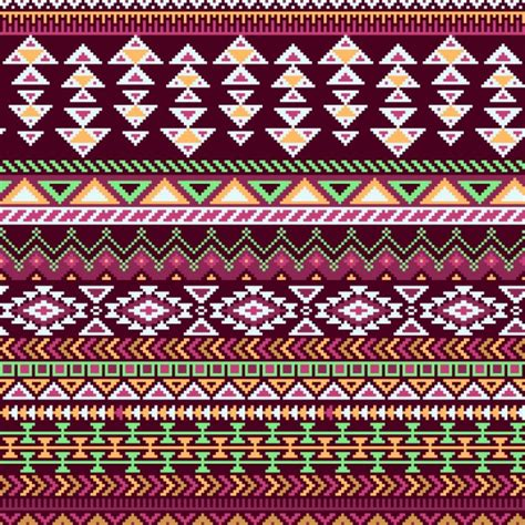 aztec pattern ai geometric pattern aztec background vector free download