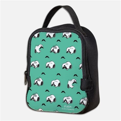 Snoopy Lunch Bag snoopy lunch bags totes insulated neoprene lunch bags