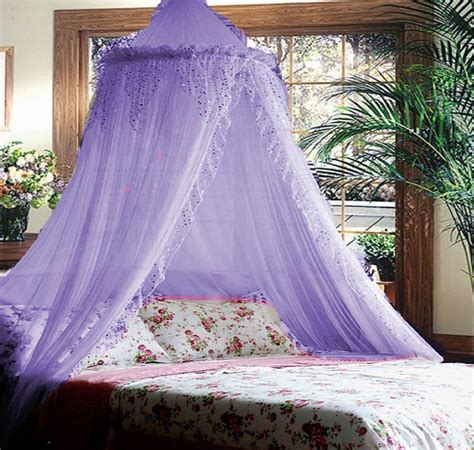 bed canopy net purple lilac jeweled princess bed canopy i could zzzzzz