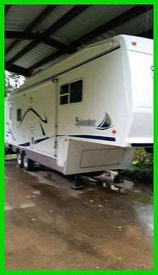 slide awnings fifth wheels 2003 forest river spinnaker for sale in palestine texas