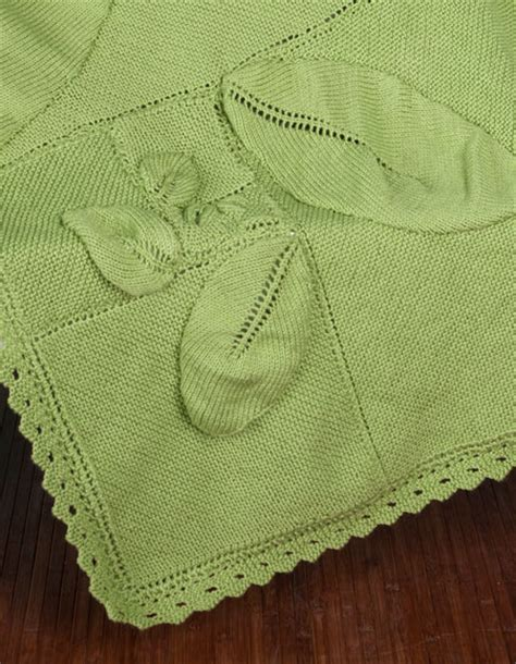 leaf pattern baby blanket free swirling leaves baby blanket knitting patterns and