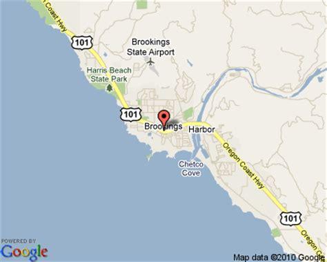 map of brookings oregon brookings oregon