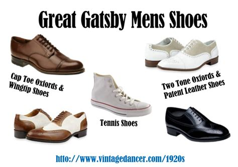 5 types of great gatsby mens shoes