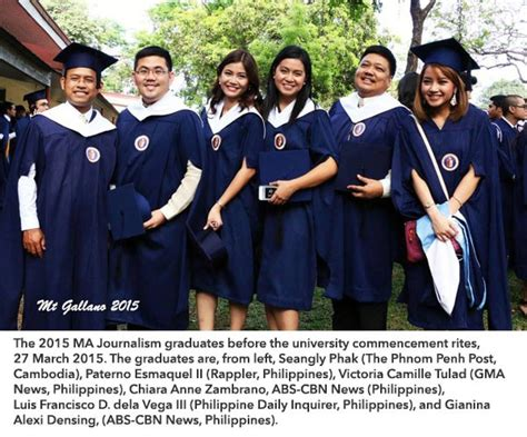 Up Manila Graduate School Mba by Ma Journalism Asian Center For Journalism