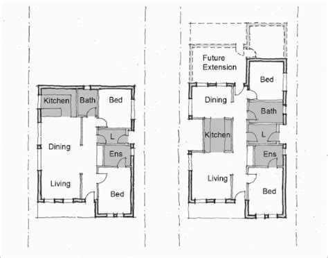 rental property floor plans small rental house plans affordable small house design one storey residential building plan
