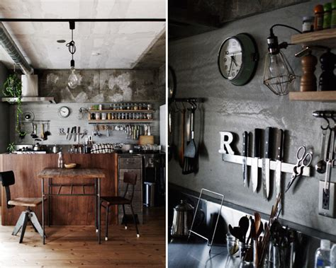 industrial chic home decor industrial apartment in japan home tree atlas