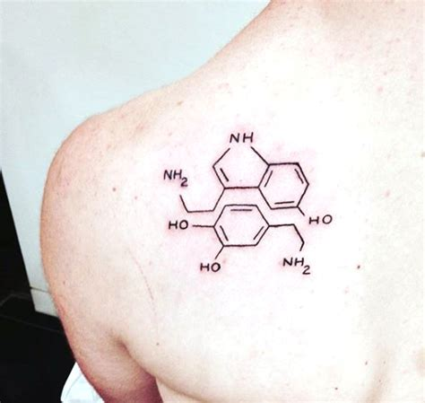 50 chemistry equation tattoos