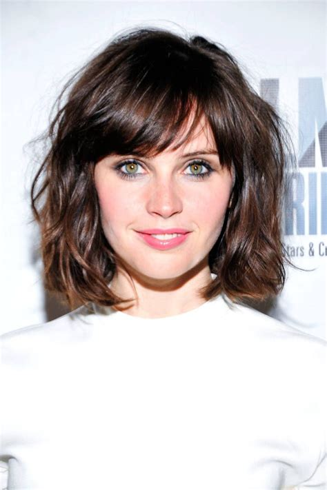 shaggy bob hairstyles 2014 medium length hairstyle with blunt piecy bangs short