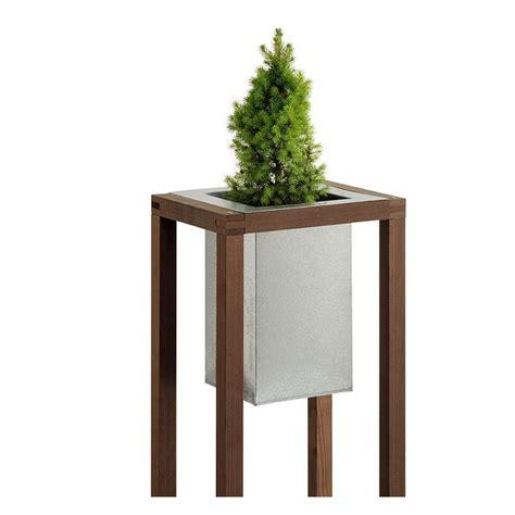Cetakan Coklat Hamburger Ttc 386 bac 224 plantes design blok en bois et acier galvanis 233 38 6x31xh101 6cm burger