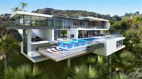 modern mansion passion for luxury contemporary mansions on sunset plaza