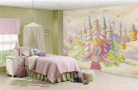Jumbo Wall Murals princess castle wall mural c836