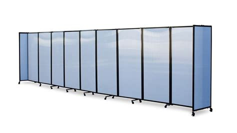 portable room divider 360 acoustic portable room divider polycarbonate