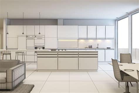 model kitchen room white kitchen and living room 3d model cgtrader