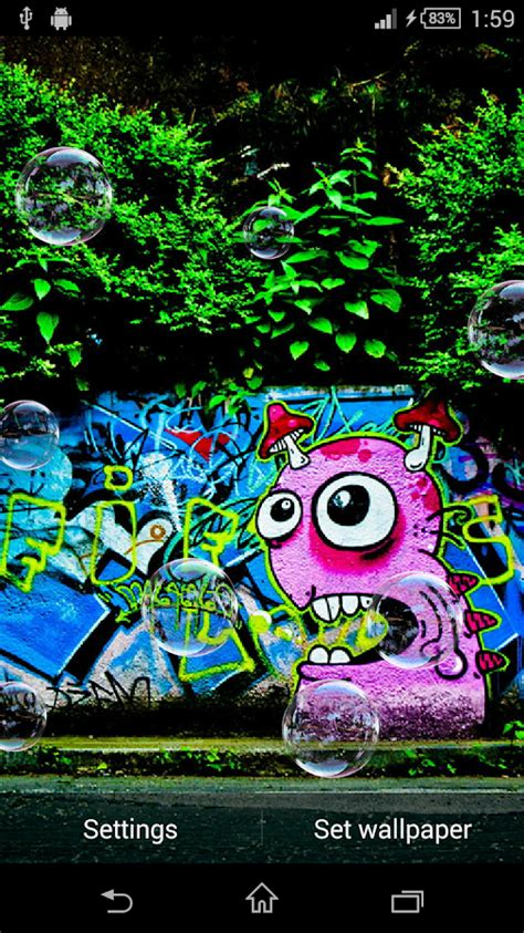Graffiti Live Wallpaper | graffiti live wallpaper android apps on google play
