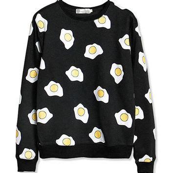 egg pattern clothes shop egg sweater on wanelo
