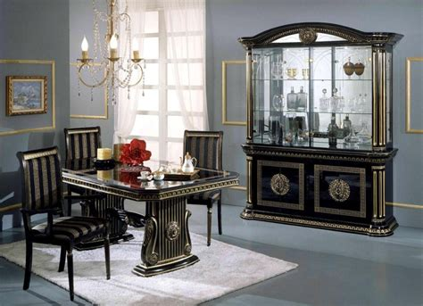 Classic Italian Dining Room Furniture Graceful Luxurious Traditional Dining Room Decoration Idea With Classic Italian Furniture