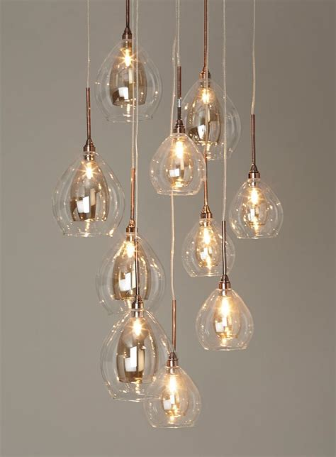 Cluster Pendant Light 10 Light Cluster Bhs Pendant Decoration For House