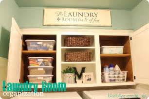 Utility Room Organization by Spring Cleaning Challenge Laundry Room Organization