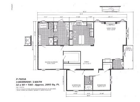 100 wayne frier mobile homes floor plans