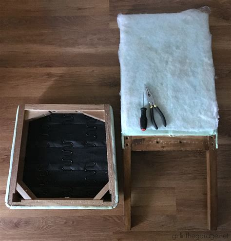 How To Reupholster A Dining by How To Reupholster A Dining Chair Straying From Your