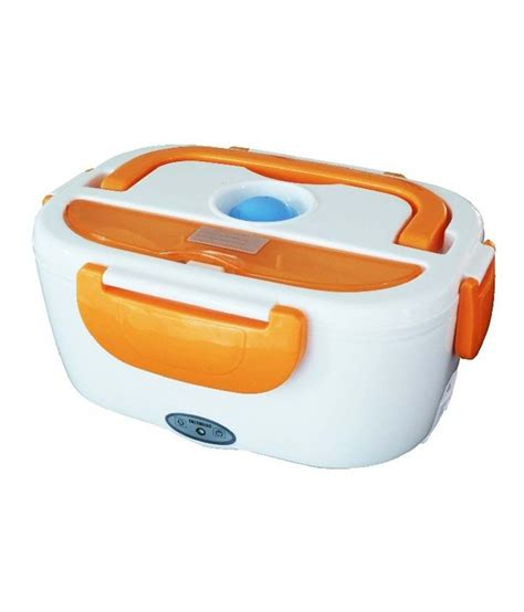 Electric Lunch Box 1 dolphy white electric lunch box with 2 compartments buy at best price in india snapdeal