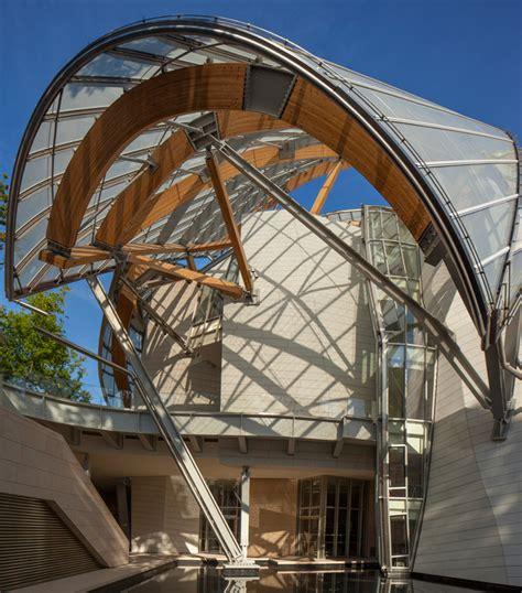 designboom paris frank gehry s fondation louis vuitton opens in paris