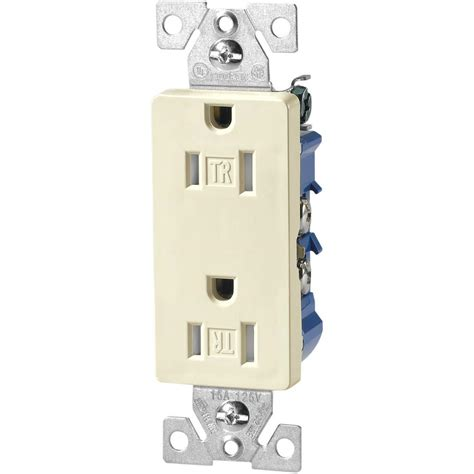 15 ter resistant decorator duplex outlet receptacle