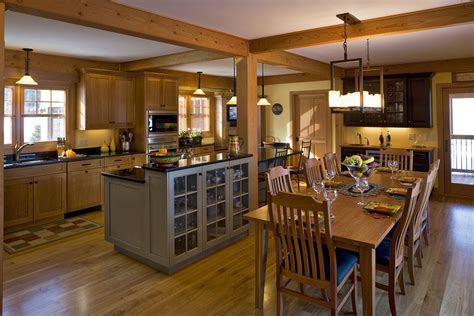 kitchen dining room designs pictures open concept kitchen idea in natural design i love the