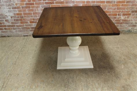 small pedestal kitchen table small square pedestal table ecustomfinishes