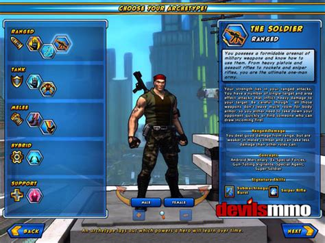 Champions Online review   free MMORPG critic