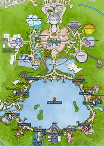 map of epcot florida kennythepirate epcot character map kennythepirate