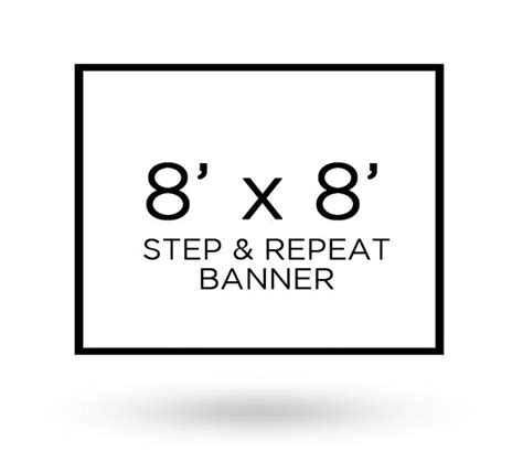 step and repeat banner template step and repeat banner 8 x 8 axisflyers