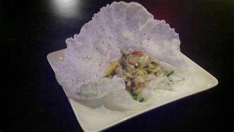 How To Make Fried Rolls With Rice Paper - shrimp ceviche in fried rice paper yelp