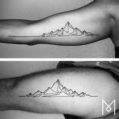 tattoo liner depth my simple mountain range tattoo could be enhanced slightly