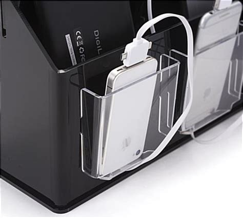 charging station organizer luxury multi device charging station with multi device charging station organizer black clear