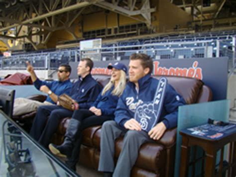 jerome s furniture creates luxury viewing area at petco park