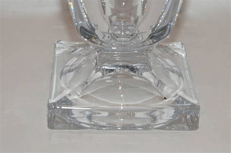 Clear Vases For Sale Clear Leaded Glass Vase For Sale At 1stdibs