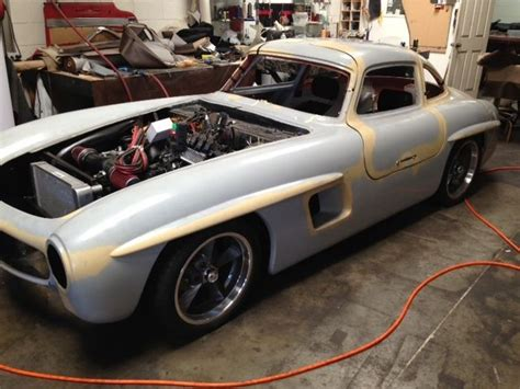 Mercedes 300sl Replica by 1955 Mercedes 300sl Gullwing Replica Classic