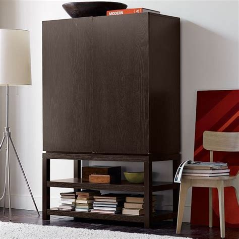 modern tv armoire parsons media armoire modern entertainment centers and