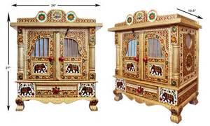 Mandir Cabinet Pooja Cabinet Usa Studio Design Gallery Best Design
