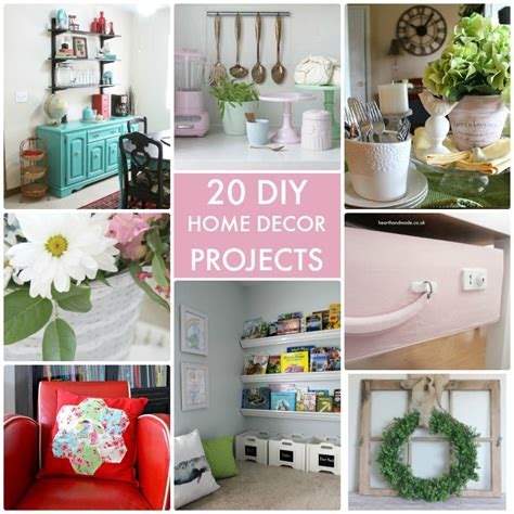 home decor tutorials great ideas 20 diy home decor projects